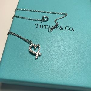 Tiffany paloma Picasso diamond necklace